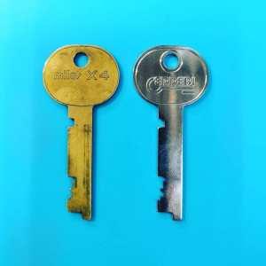 изготовление ключей для депозитного замка