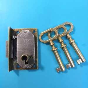 Новые ключики для мебельного замка.