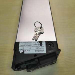 Изготовление ключа по замку для сьемного аккумулятора на электро велосипед.