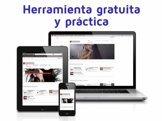 herramienta gratuita web