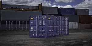'Double-doored containers'