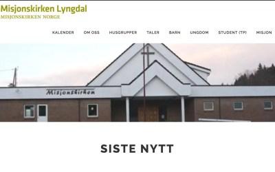 Nytt design på nettside