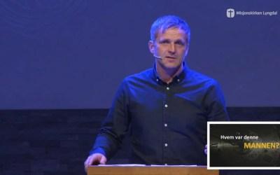 Gudstjeneste tale søndag 15/3. Pastor Jim L. Foss