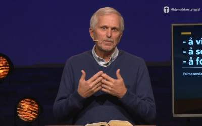«Jesus kommer til oss» av pastor Eilif Tveit