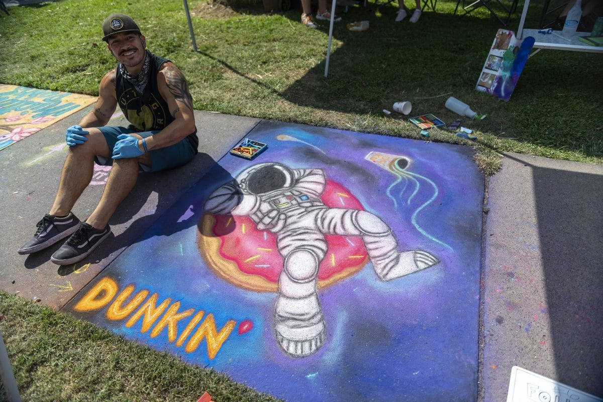 The chalk it up sacramento art festival: an artist's perspective 9 apart from drawing hop-scotch squares as a child, i had zero experience creating chalk art before participating in this year's chalk it up festival in sacramento.