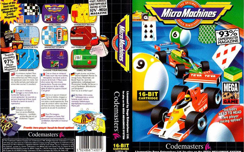 Micro Machines : 17/20