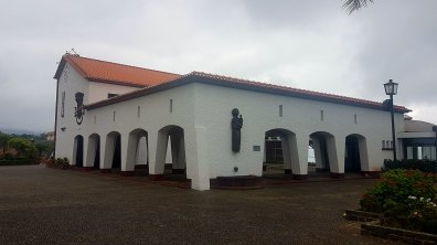 la mairie de Santana, ancien couvent réaménagé