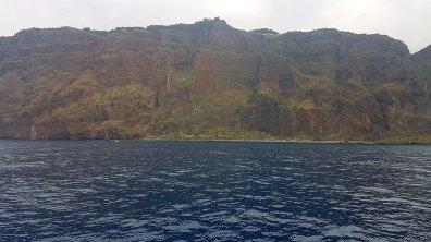 Cabo Girão vu d'en dessous
