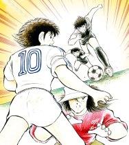 Tsubasa contre le trio de la Meiwa