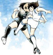 Tsubasa vs Hyuga