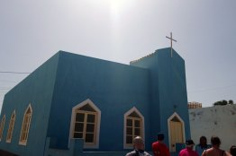 Eglise colorée de Palmeira