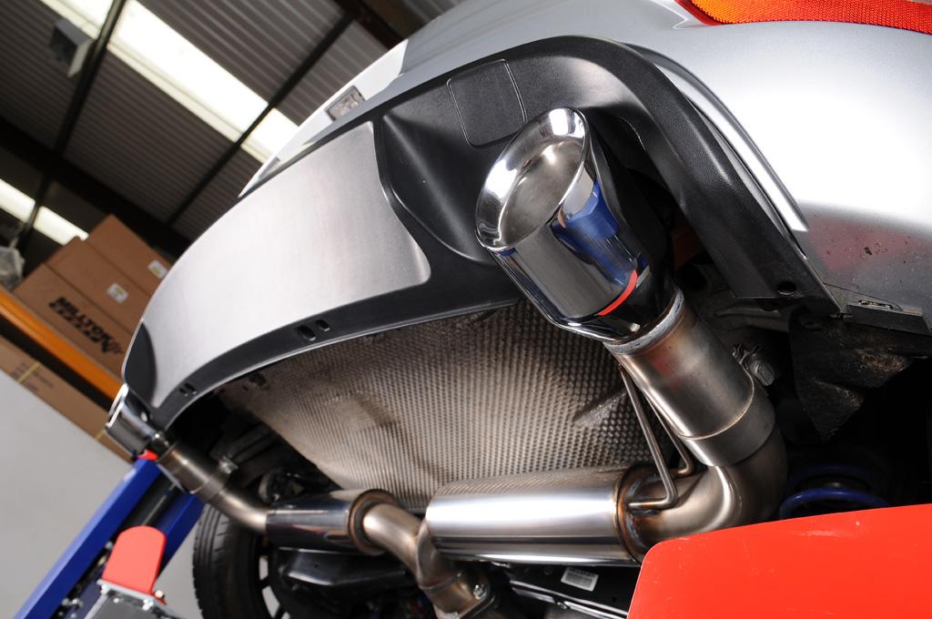 mkp tuning turbo back excluding hi flow sports cat polished trims