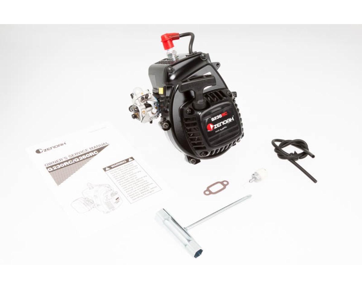 Zenoah Zenoah G230rc 23ccm Motor Ohne Kupplung Filter Reso