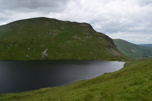 Grisedale tarn and Dollywagon Pike