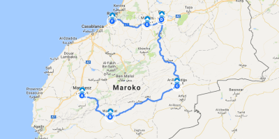 Morocco thread type of the trip