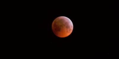 Total lunar eclipse 2019 Suffolk UK
