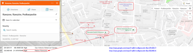 Bing maps objects and signatures