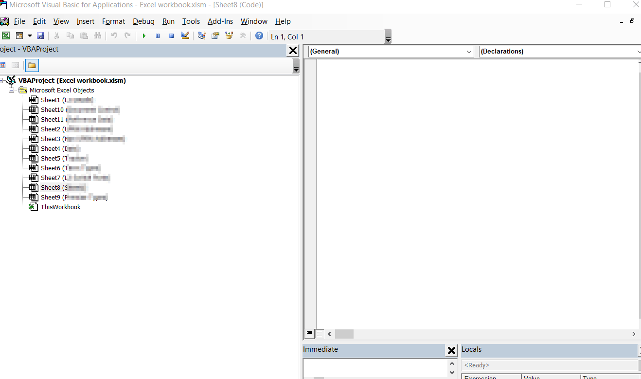 Smart Way Of Unlocking The Excel Vba Project And Workbook