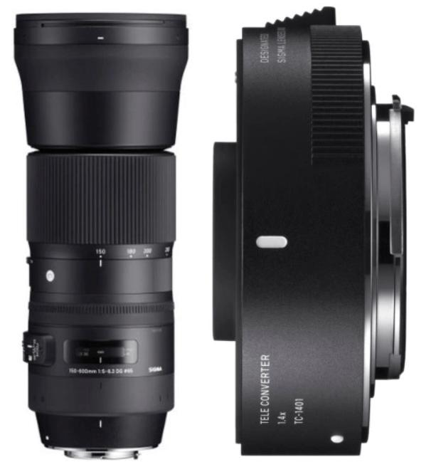 Sigma 150-600mm C and TC-1401