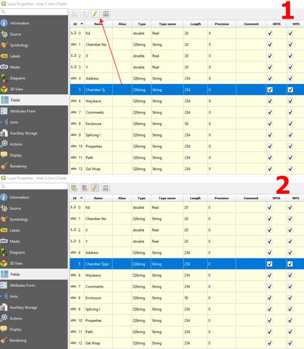QGIS fields 10 characters limit