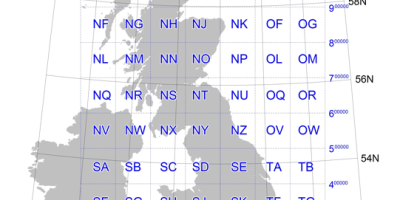 Ordnance Survey Map Reference Conversion Spreadsheet map code