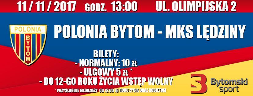 Polonia Bytom – MKS, sobota godzina 13.00