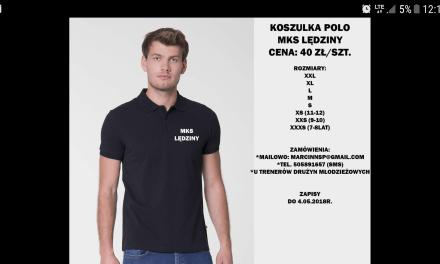 Koszulki polo z logo MKS – trwają zapisy!