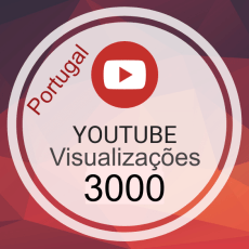 3000 Visualizações Video Portugal