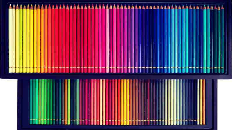 Image of colored pencils symbolizing customer segmentation