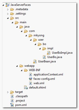 jsf2-spring-example-folder