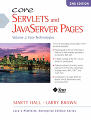 Core Servlet and JavaServer Pages