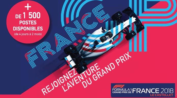 Emploi Grand Prix de France Le Castellet