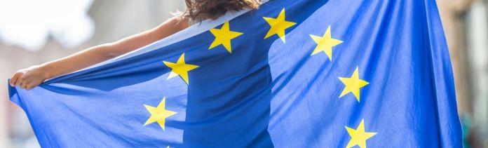 initiative DiscoverEU drapeau Europe