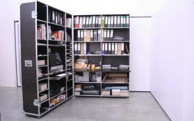 Mobiles Büro von ML-Case schafft Platz für kreatives Arbeiten