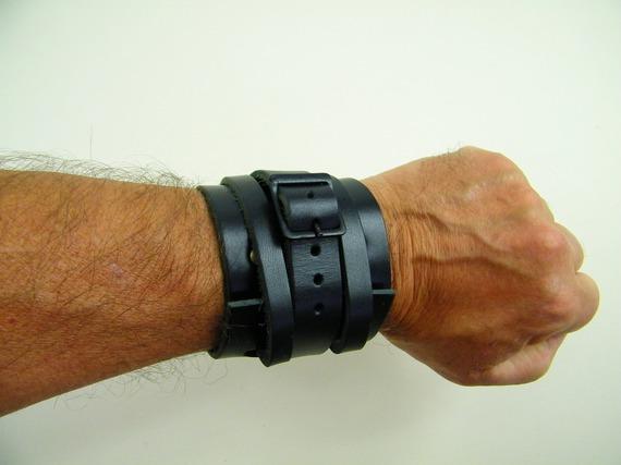 Bracelet de force en cuir