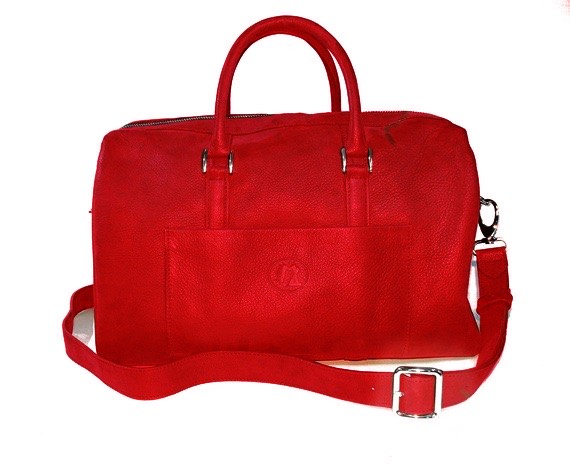Sac personnalisable rouge