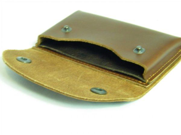 Porte-cartes en cuir à porter à la ceinture fabriqué en France