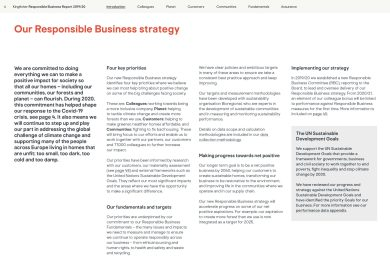 Kingfisher Responsible Business report 2019/20 page 6