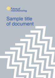 FOM sample booklet cover