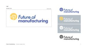 Future of manufacturing new logo guide