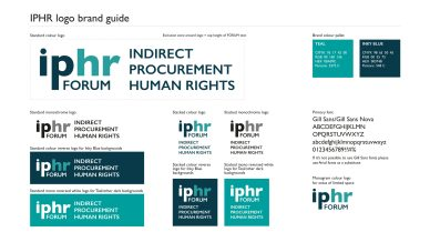 IPHR logo brand guide