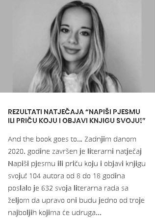 """Osijek.in: Rezultati natječaja """"Napiši pjesmu ili priču koju i objavi knjigu svoju!"""""""