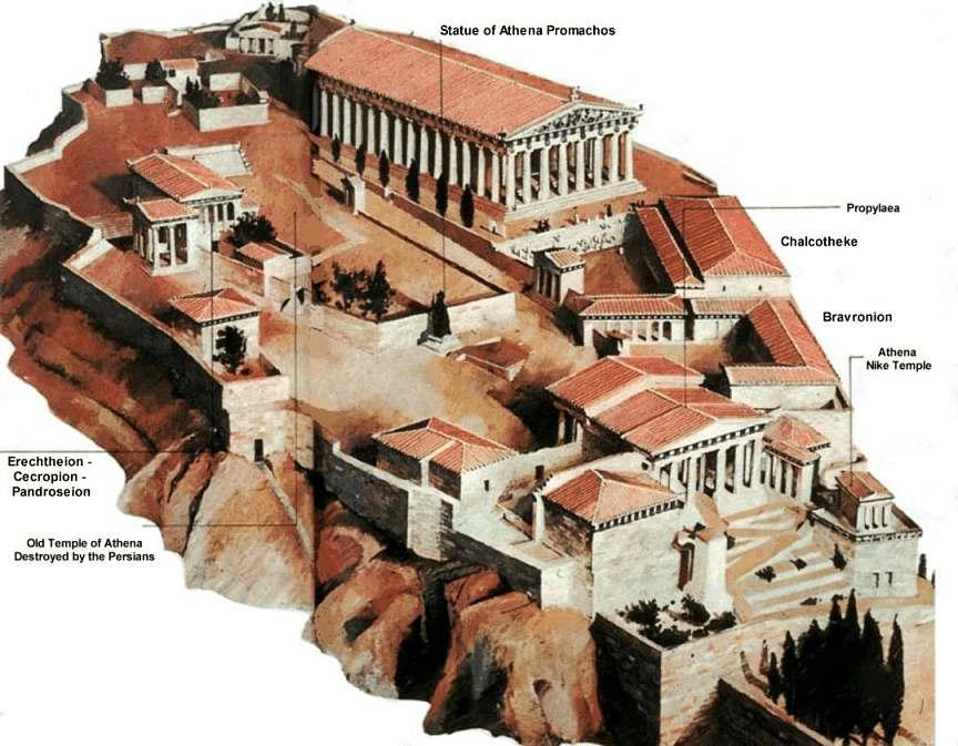 Athens Akropolis.