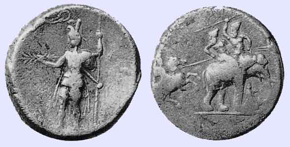 Alexanders Coins Boasting Of His Victory Over Porus