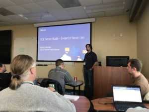 Patrick Keisler - SQL Audit