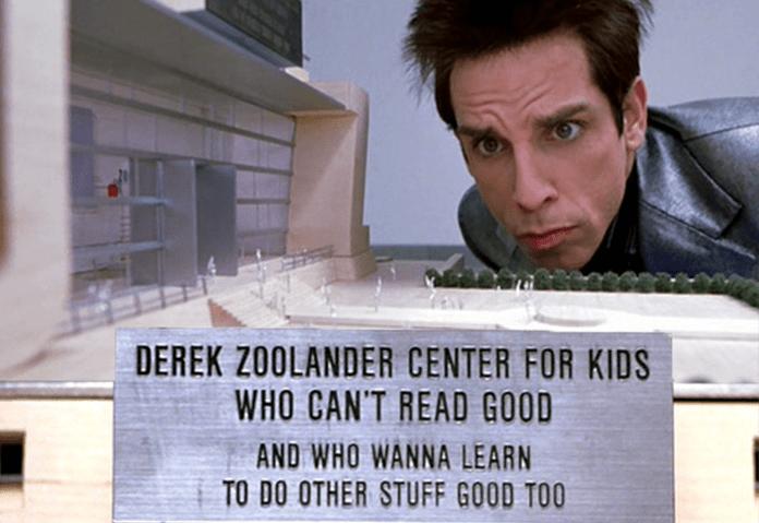Zoolander learning