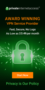 PIA Award Winning VPN