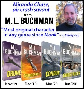 Miranda Chase thriller series