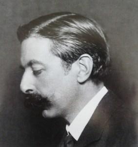The young composer Enrique Granados