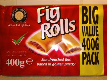 Fig Rolls packed, and ready to go!